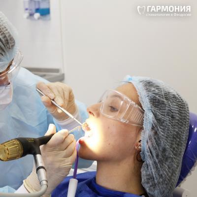 Пациенты стоматологии Гармония в Феодосии